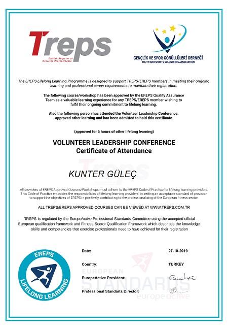 Gönüllü Liderliği Eğitim Konferansı