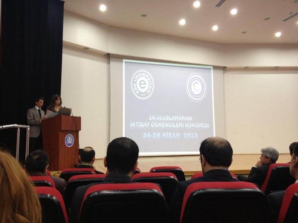 Ege Üniversitesi İktisat Öğrencileri Kongresi