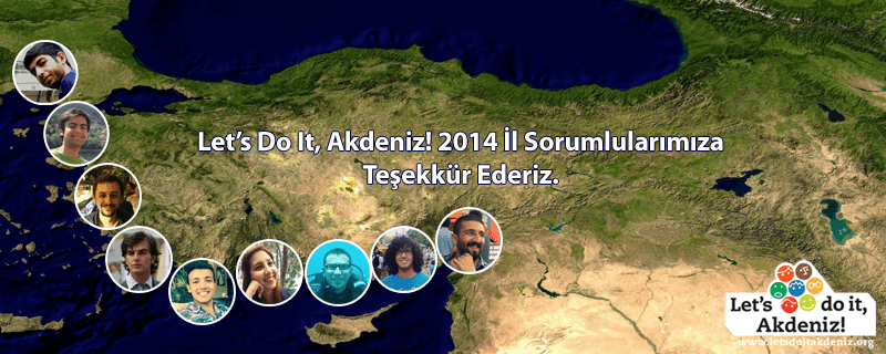 Let's Do it Akdeniz Proje Koordinatörleri