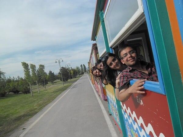 Sazova Parkı Tren